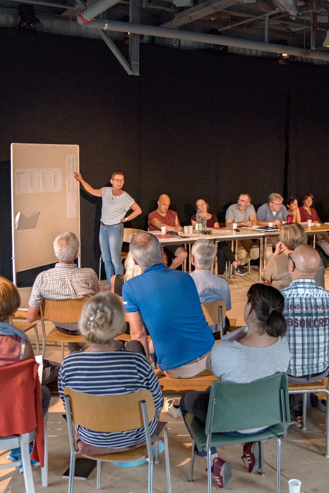 Kick-Off Versammlung Theater