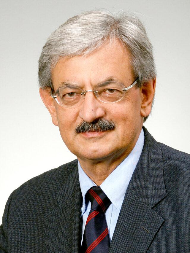 Porträt Prof. Dr. Iwan Rickenbacher, Vizepräsident Verein Big Bang