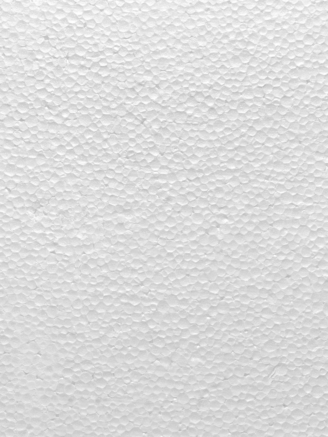 Styropor-Textur